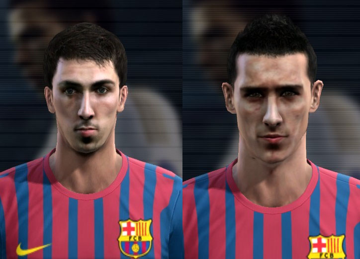 Cuenca e Tello Faces - PES 2012