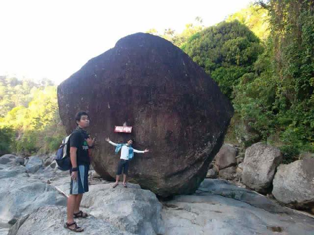 Malingin Stone @ Malingin River Brgy Mulao, Liloan