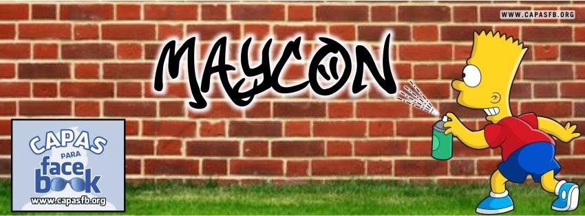 Capas para Facebook Maycon
