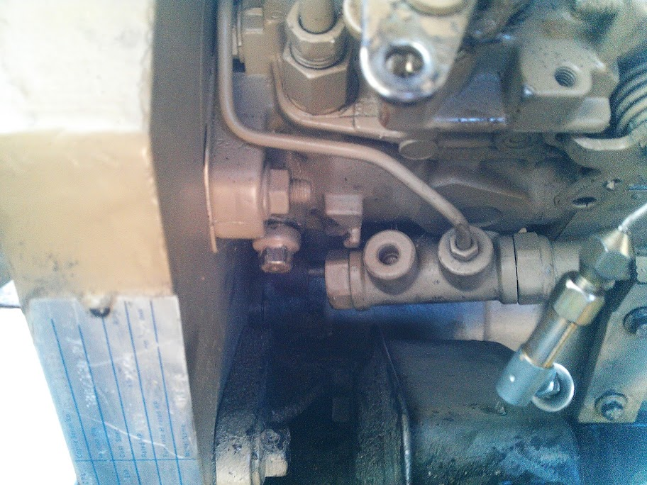 4bt Ve pump timing gear marks