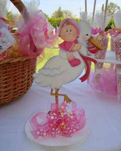 Distintivos para los invitados de 1 Baby shower