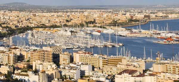 Palma de Mallorca, panorámica