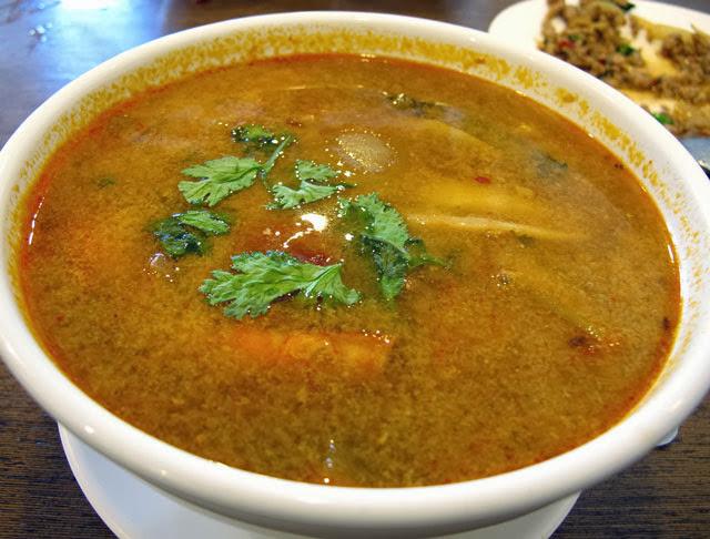 酸辣海鮮湯 NT 150元-泰僑村台中泰式料理
