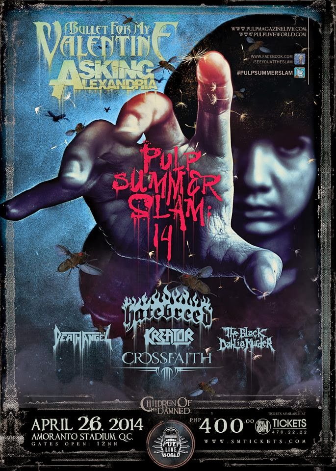 PULP Summer Slam 2014 – Line Up