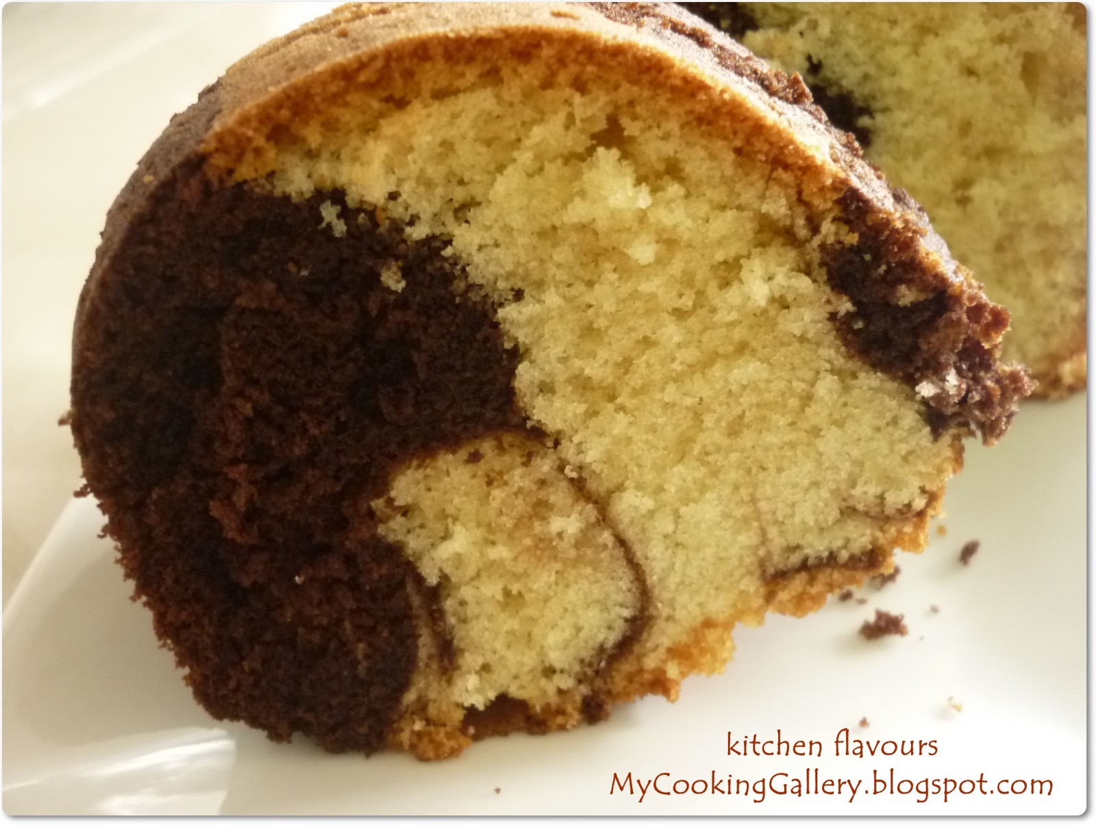 kitchen flavours: Marble Cake