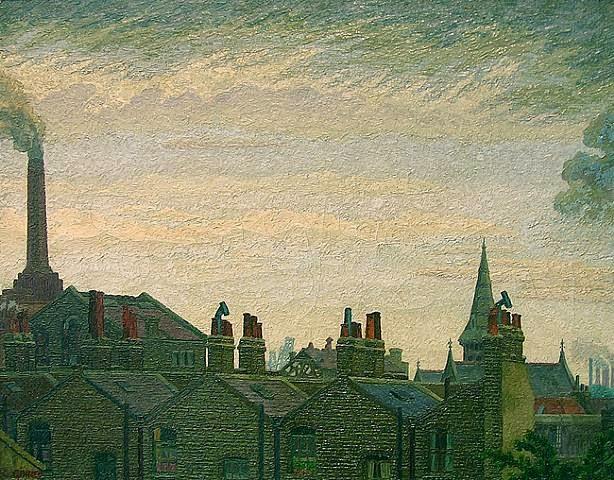 Charles Ginner - Pimlico Skyline