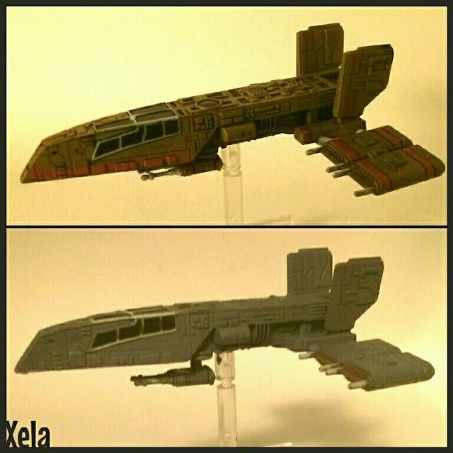 HWK-290 repintado por Xela 1a fase
