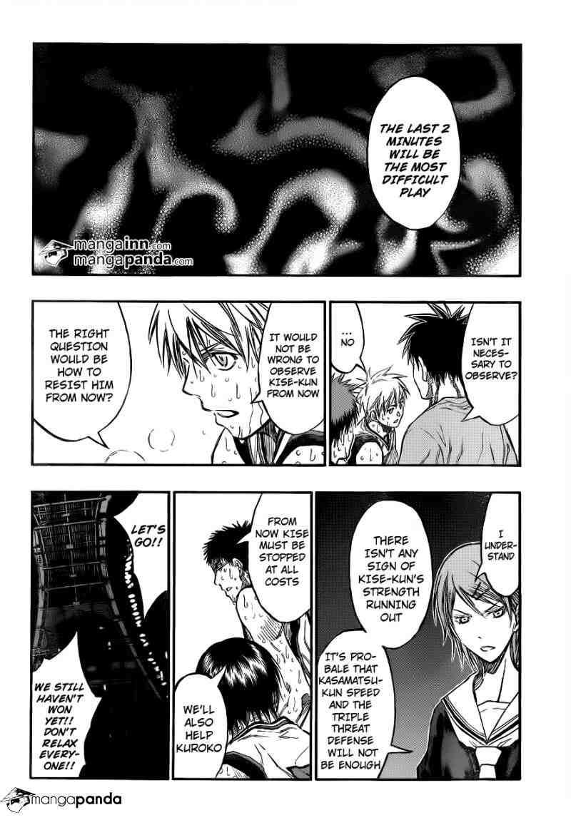 Kuroko no Basket Manga Chapter 199 - Image 04
