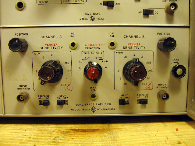 Amp On An Oscilloscope : Wanted vintage hp series vertical amplifier plug ins