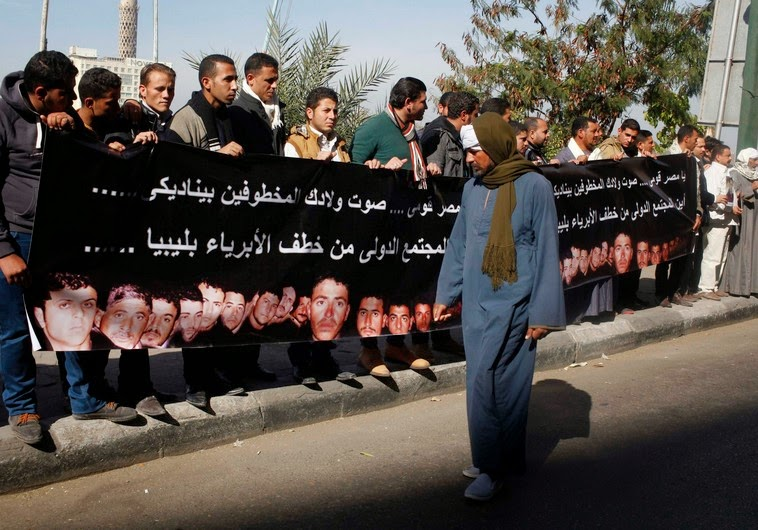 Egypt ready for war: Christians pray for martyrs