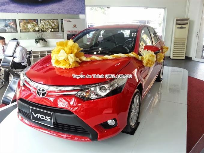 Giá Xe Toyota Vios 2015 Màu Đỏ Số Tự Động