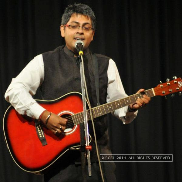 Abijit Ganguly at Kolkata's Funniest Day, a stand-up comedy event.