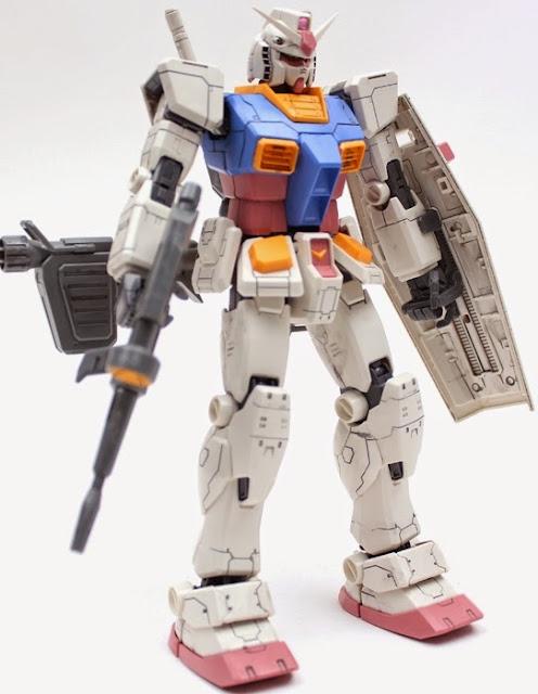 Mô hình lắp ghép RX-78-2 Gundam Ver. One Year War 0079 tỷ lệ MG 1/100