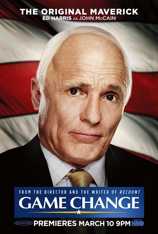 Ed Harris as John McCain
