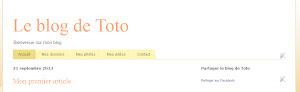 Le bouton de partage de Facebook, dans un gadget HTML/JS ou dans un gadget AddToBlogger.