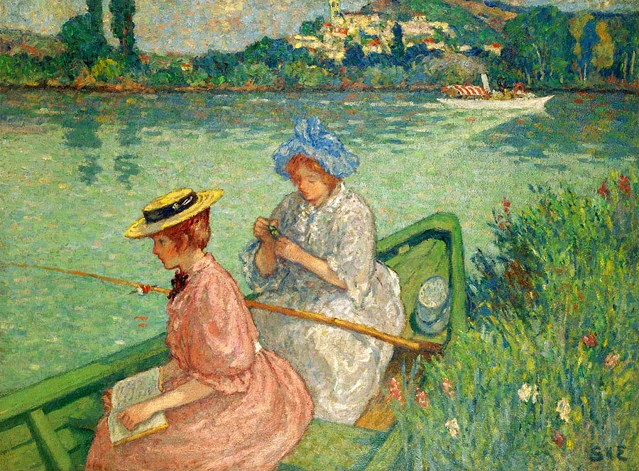 Georges d'Espagnat - Women Fishing