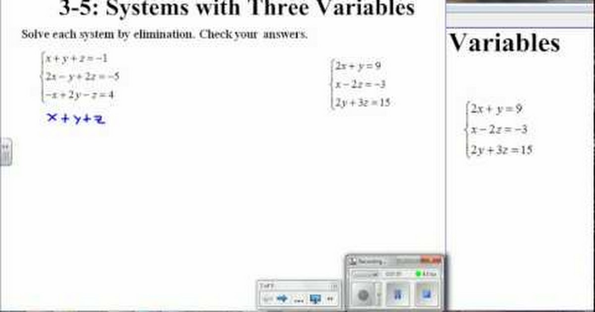 systems with three variables - 1200×630
