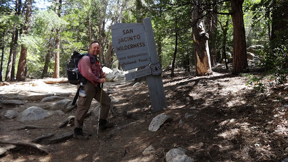 Leaving the San Jacinto Wilderness