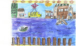 2nd Place Winner-Elementary Schools Eryn Shanks from Cape Fear Center for Inquiry in the 5th grade