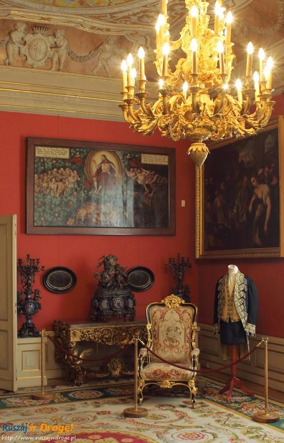 Warszawa Pałac Wilanów - bogactwo wnętrz