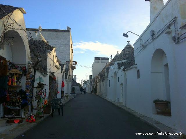 улочка в Альберобелло