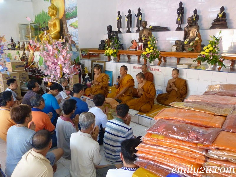 Wat Puthanimittam Kathina Pinkama Ceremony 2014