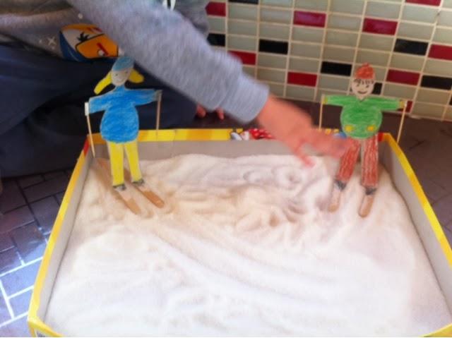 Can Ve Cerenin Oyun Günlüğü Kartondan Kayak Yapan Bebeklerimiz