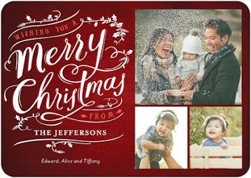 Thiệp Giáng Sinh thiết kế cá nhân