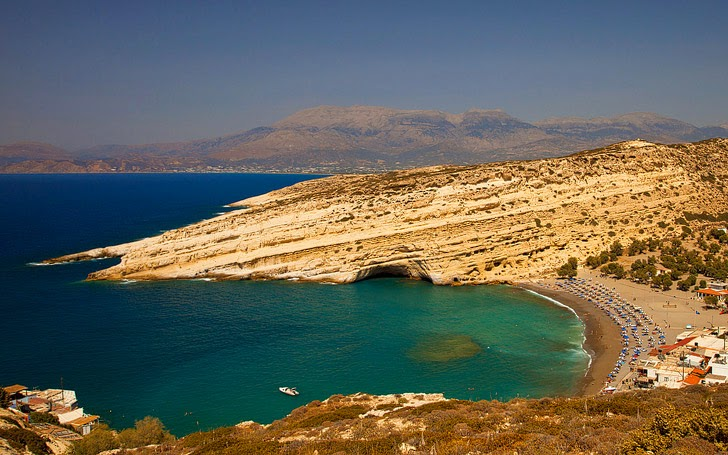 Matala Beach Crete (15 Most Beautiful Beaches in Greece You Must Visit).
