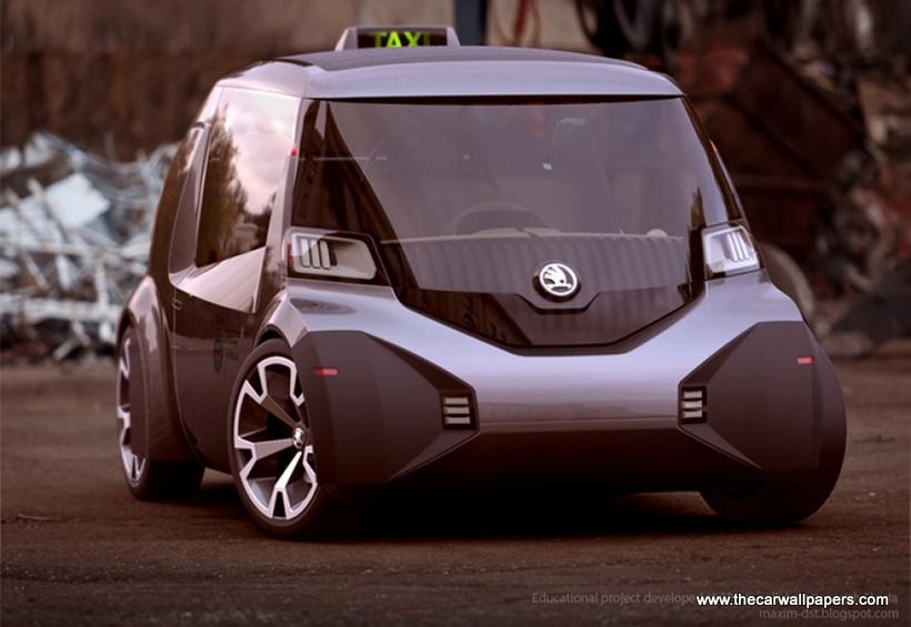 Skoda Ago Expo Micro Taxi Concept