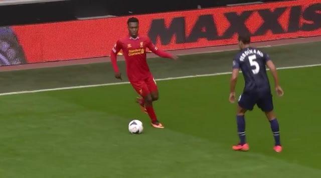 Daniel Sturridge, Liverpool - Manchester United
