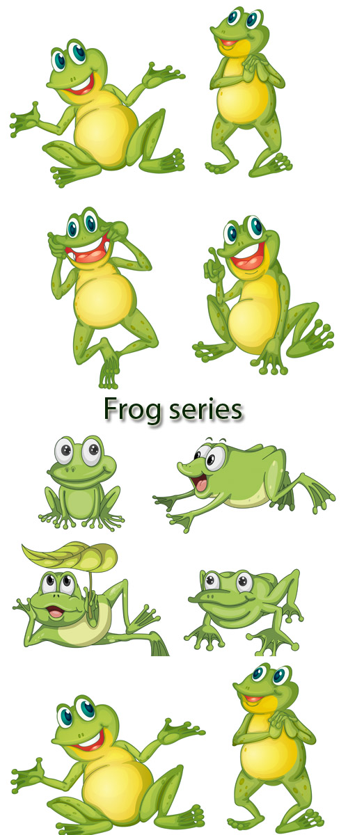 Stock: Frog series