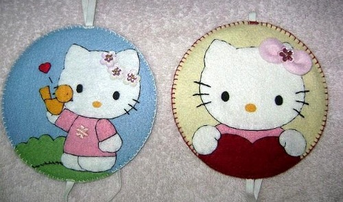 marca paginas hello kitty
