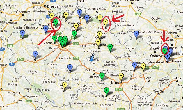 Nowe stacje CNG w Czeskiej Republice - styczeń 2012