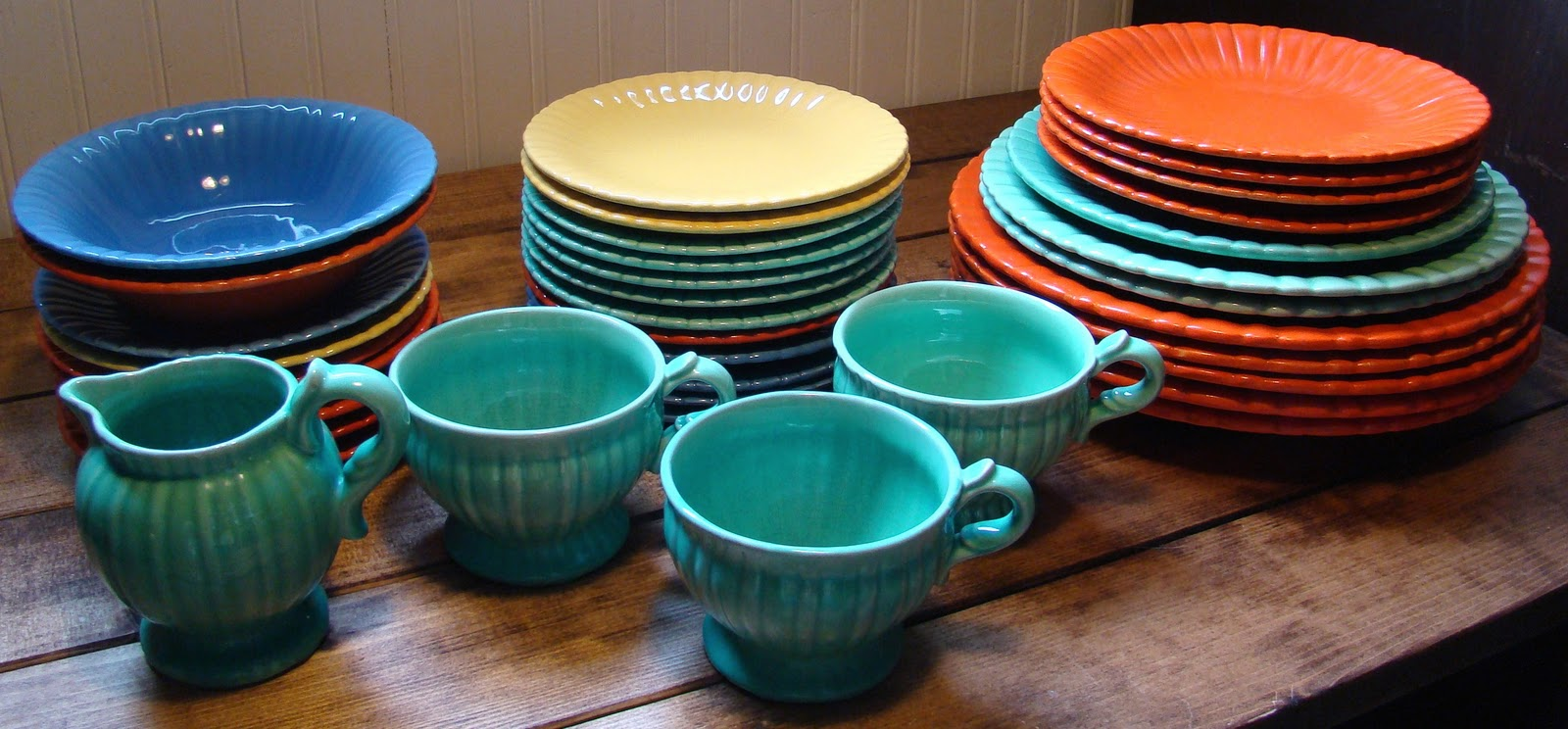 Stangl Pottery & thrifty vintage kitchen: Stangl Pottery