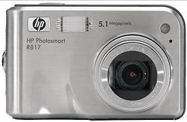 HP Photosmart R817