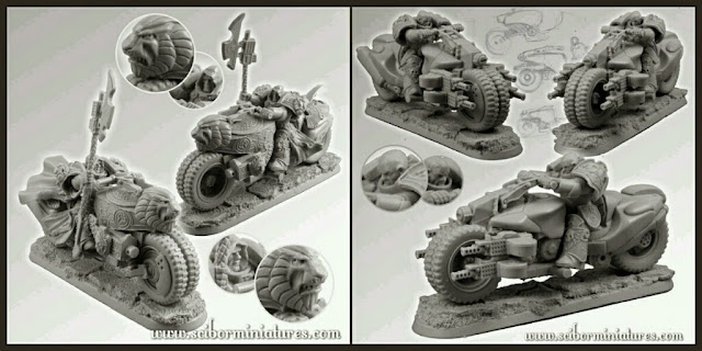 Motos Scibor Miniatures