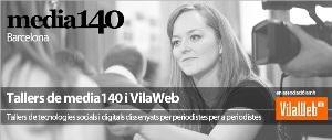 Tallers Media140 i Vilaweb