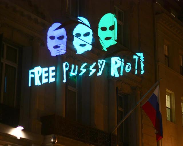 Illuminator: Free Pussy Riot