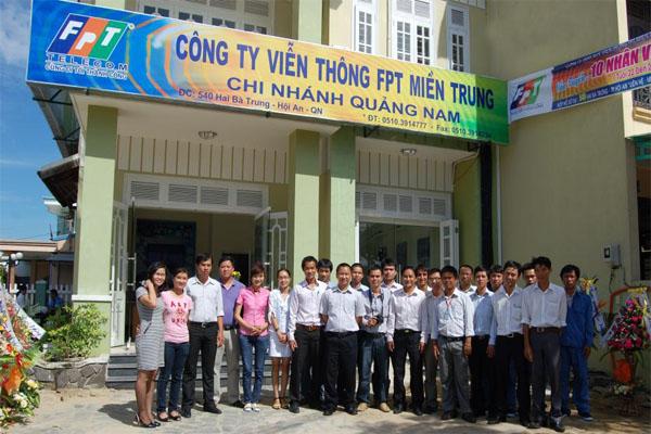 Văn Phòng Giao Dịch công ty FPT Telecom Chi Nhánh Hội An