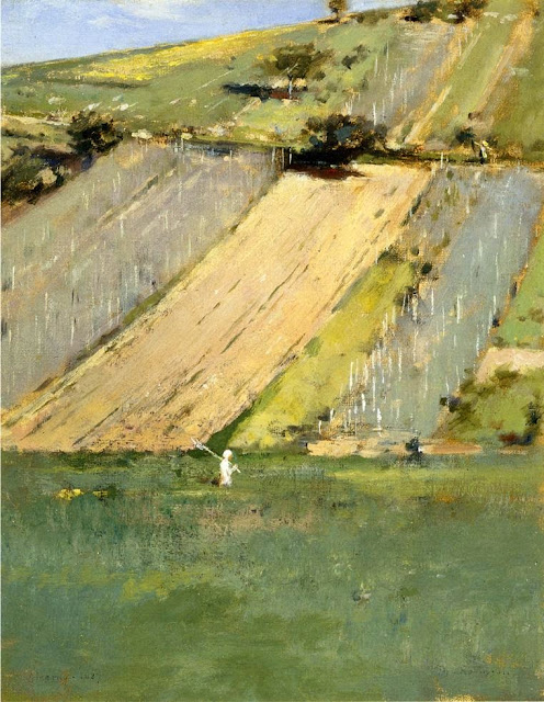 Theodore Robinson - Valley of the Seine, Giverny