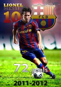 Tổng Hợp 73 Bàn Thắng Của Lionel Messi Mùa Giải 2011 - 2012 - Lionel Messi - All 73 Goals Of The Season 2011 - 2012 poster