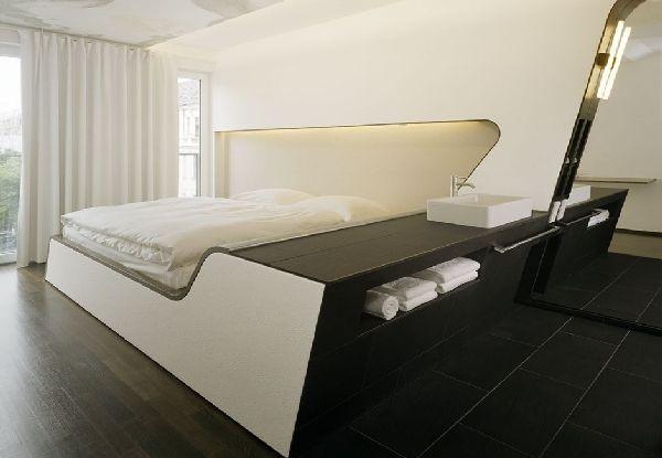Now Everyone Can Decor Futuristic Interior Bedroom