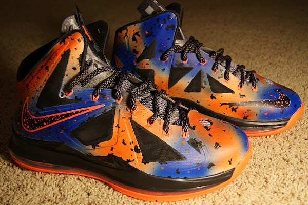 Nike LeBron X 8220New York Nights8221 Customs by KSM