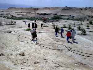 Jericho - הגילגל - המקום של הפסח הראשון בארץ ישראל אחרי חציית הירדן עם יהושע בן נון