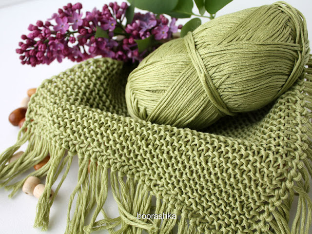 apple green cotton yarn