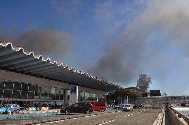 Incendio Fiumicino: presenza diossina, due indagati