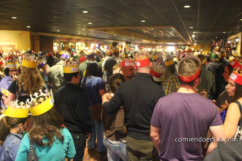 Medieval crowd