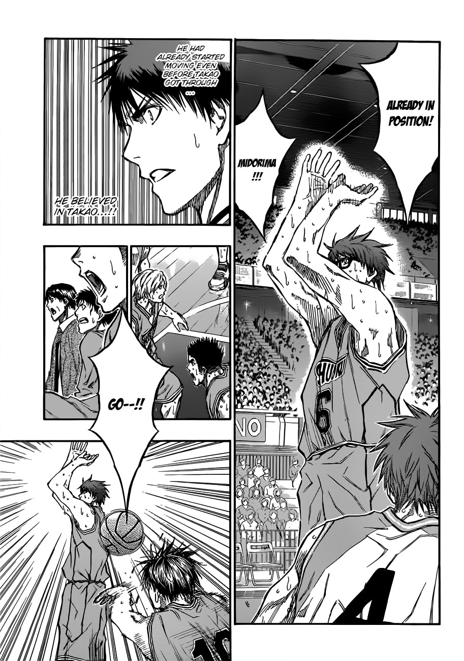 Kuroko no Basket Manga Chapter 182 - Image 07