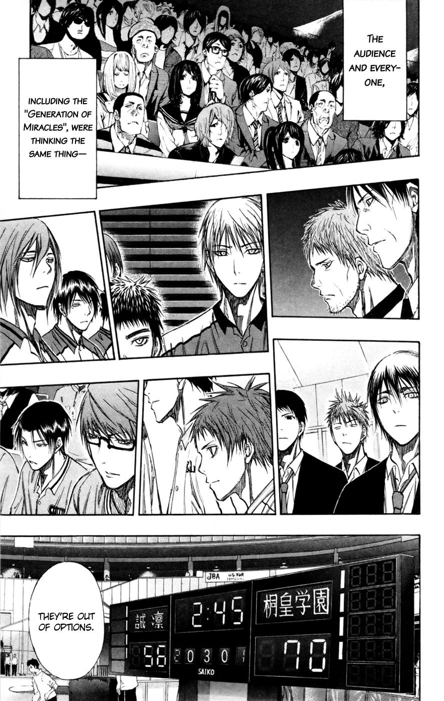 Kuroko no Basket Manga Chapter 128 - Image 01